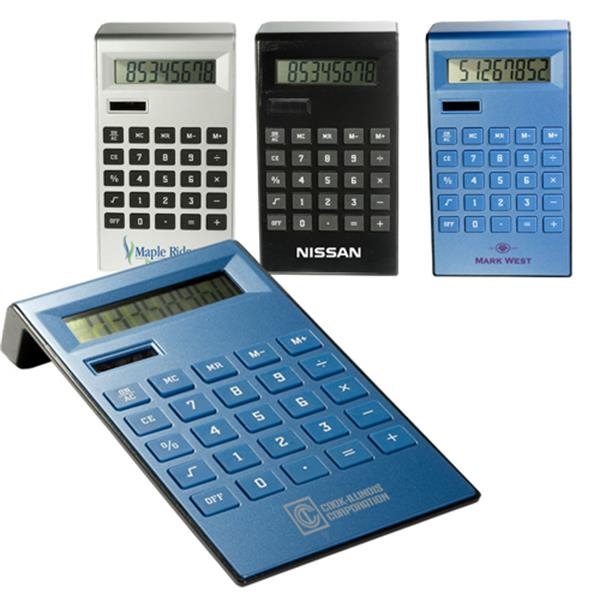 Slim Ergonomic Calculator Photo