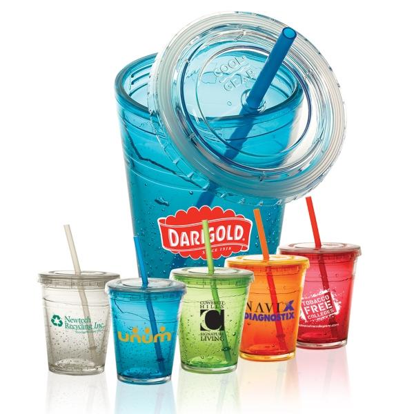 Cool Gear (tm) - Bpa-free Double-wall Acrylic Tumbler With Freezable Gel Encased Between Walls Photo