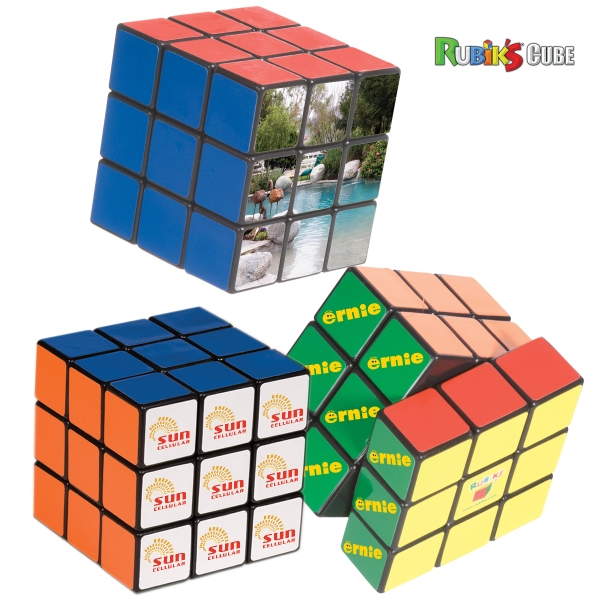 Rubik's (r) - Nine Panel Stock Cube Puzzle Photo