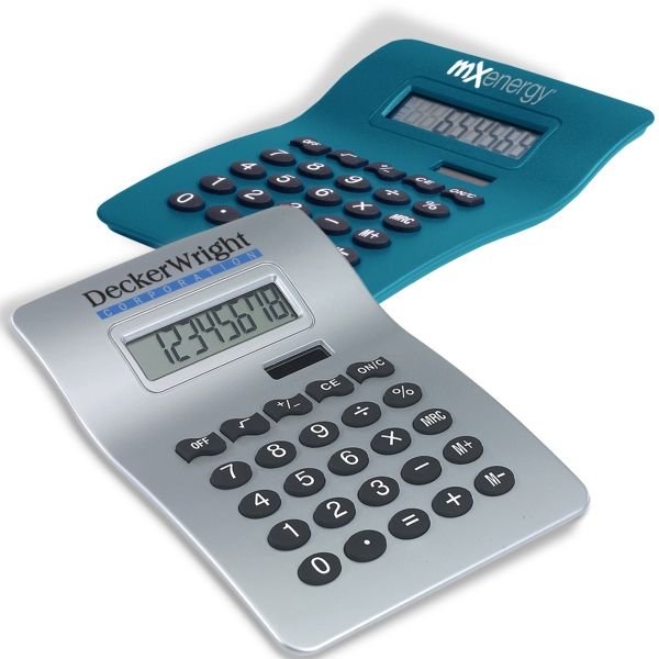 Jumbo Size Calculator With Angled Lcd And Large Raised Soft Touch Keys Photo