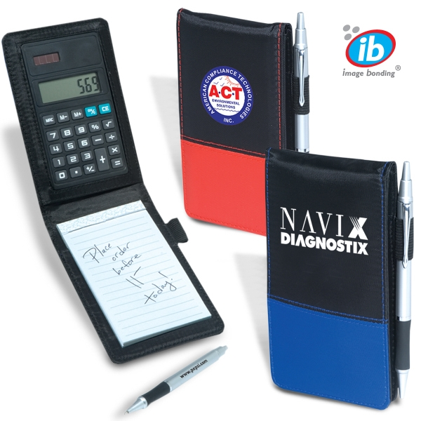 Calcu-jotter Aries - Jotter With Calculator And Pen Combination Photo