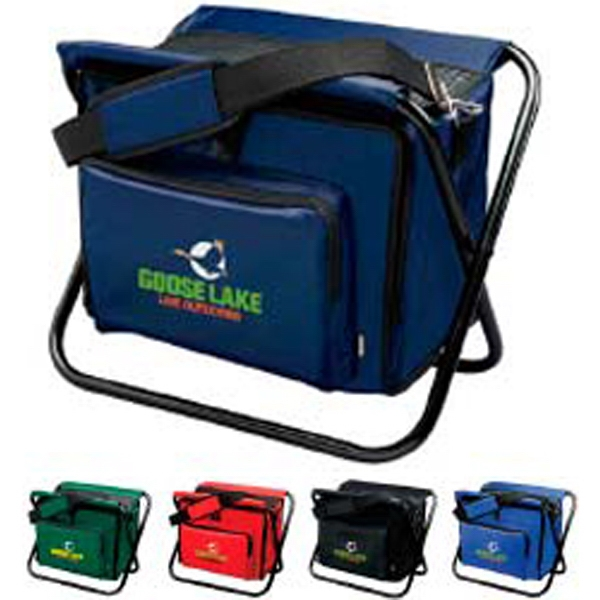 Koozie (r) Kooler - Deluxe Chair Cooler, Has Ribbed Padding On Seat And Holds 250 Pounds Photo