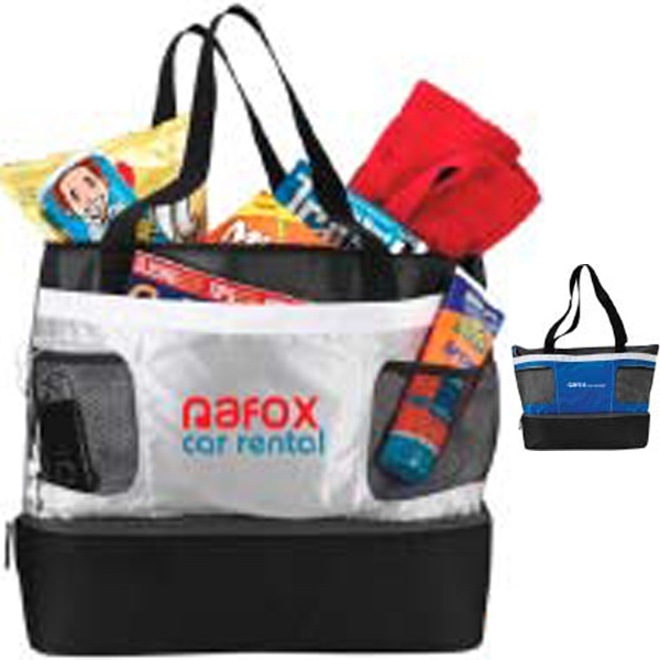 Double Decker Atchison (r) - Cooler Tote With Heat Sealed Peva Liner Photo