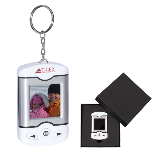 Cinema - Digital Photo Keychain With Color Display Photo