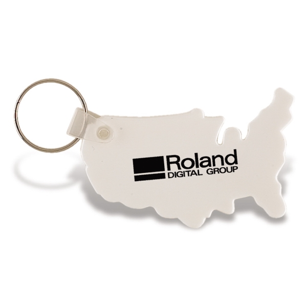 Vinyl Usa Keychain Photo
