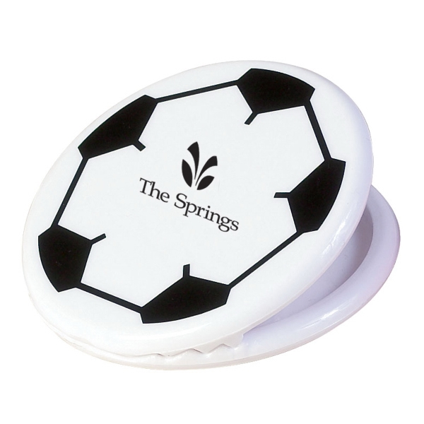Soccer Ball Memo Clip. Closeout Photo