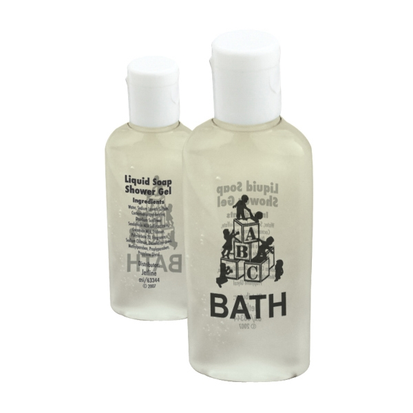 Antibacterial Hand Soap And Shower Gel With Flip Cap, Photo
