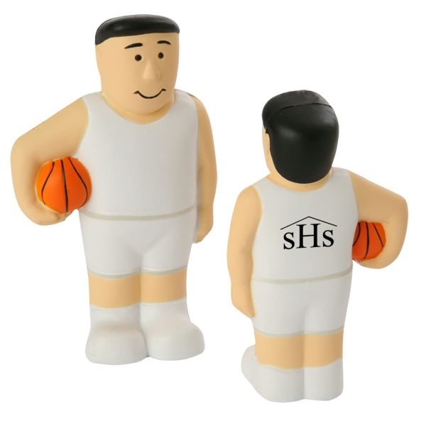 Basketball Player Stress Reliever Photo