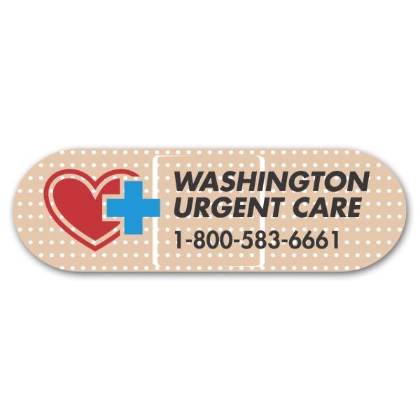 Bandage Magnet 1-1/4 x 4