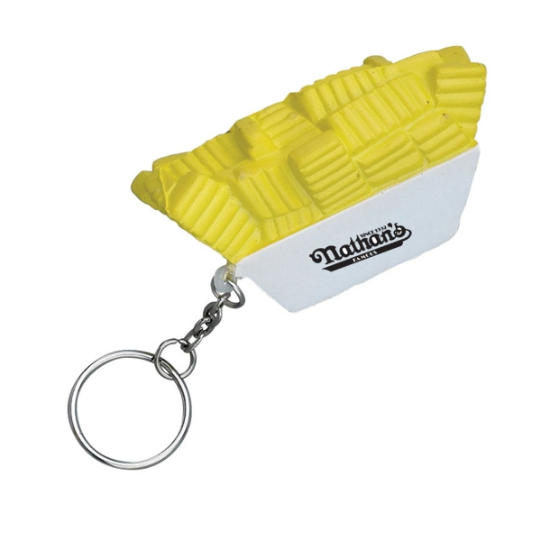 French Fries Stress Reliever Key Chain Photo