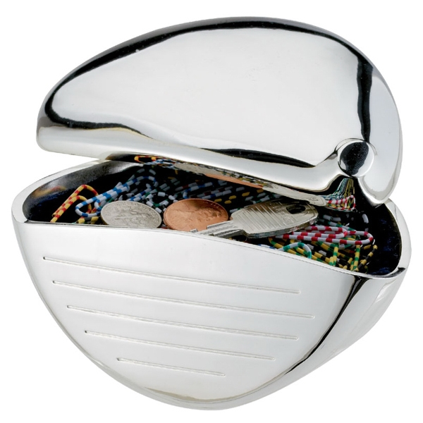 Silver Plated Golf Club Cubby Photo