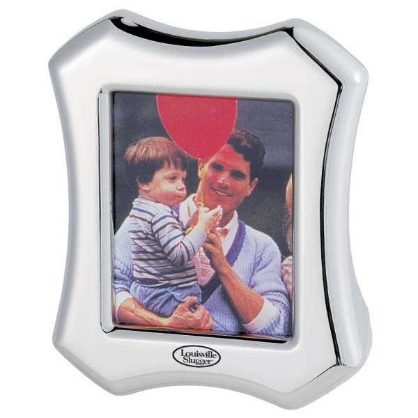 Silver Plated Picture Frame. Closeout Photo