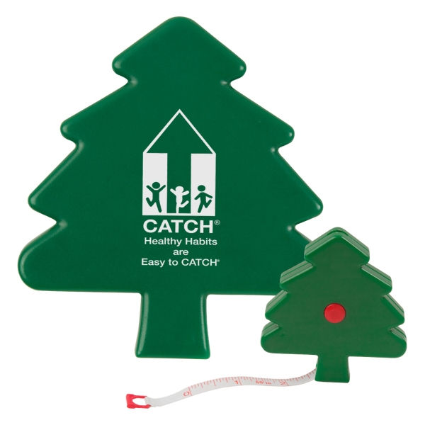 Christmas Tree Shaped Tape Measure Photo