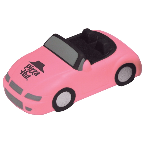 Sports Car Convertible Stress Reliever In Pink Only. Closeout Photo