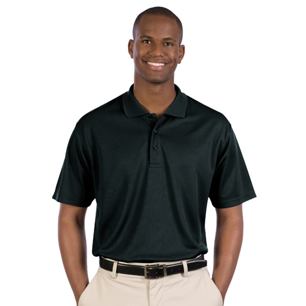 X S- X L - Men's 5.0 Oz 100% Polyester Performance Material Mesh Sports Shirt. Blank Photo