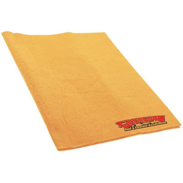 Soft Chamois Towel Photo