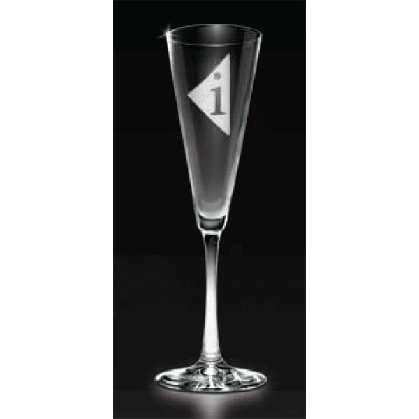 "Fruition Collection - Flute Glass, 9 3/4"" Photo"