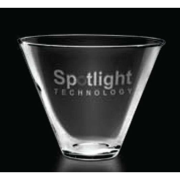 Metro Stemless Collection - Martini Glass Photo