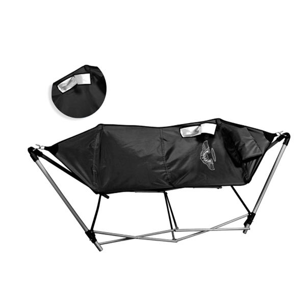 Heavy 600 Denier Polyester Hammock With Cooler. Scotch Guarded Photo