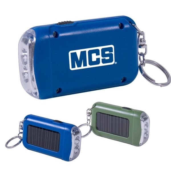 Keychain With Solar Powered Light Photo