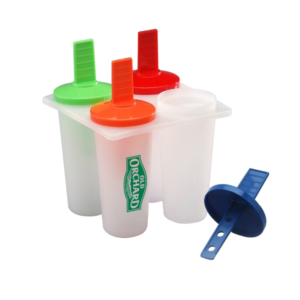 Frozen Pop Maker, Bpa Free, Makes 4 Photo