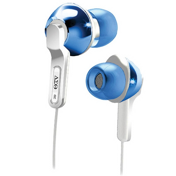 City Lights Iluv (r) - Lightweight Earphone With High Performance Speakers, Ideal For Ipod/iphone Photo