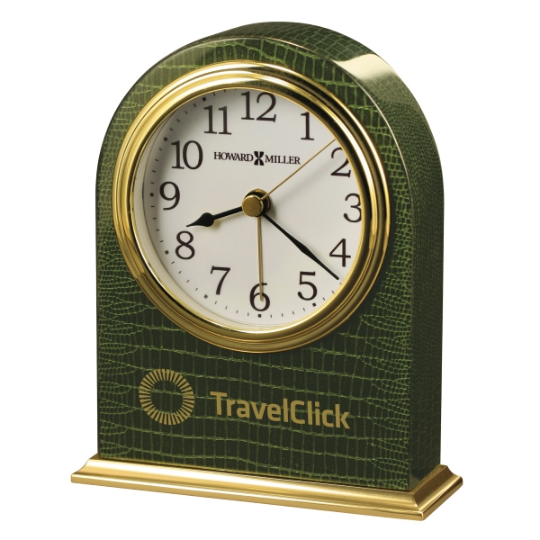 Madison - Emerald Green Tabletop Alarm Clock Photo