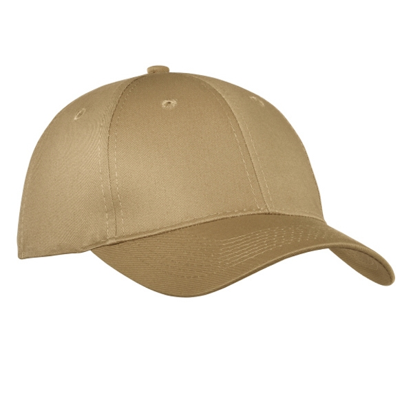 Port & Company (r) - Structured Twill Six Panel Cap With Mid Profile And Buckram Lining Photo