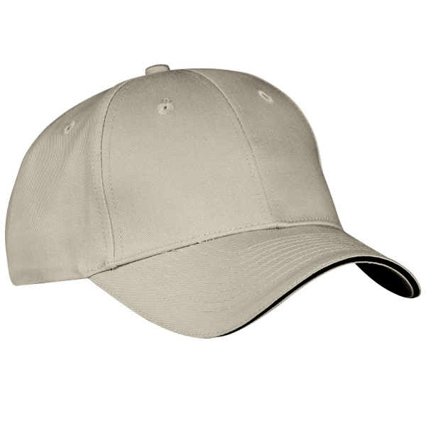 Port & Company (r) - Structured Sandwich Bill Cap With Hook And Loop Closure Photo