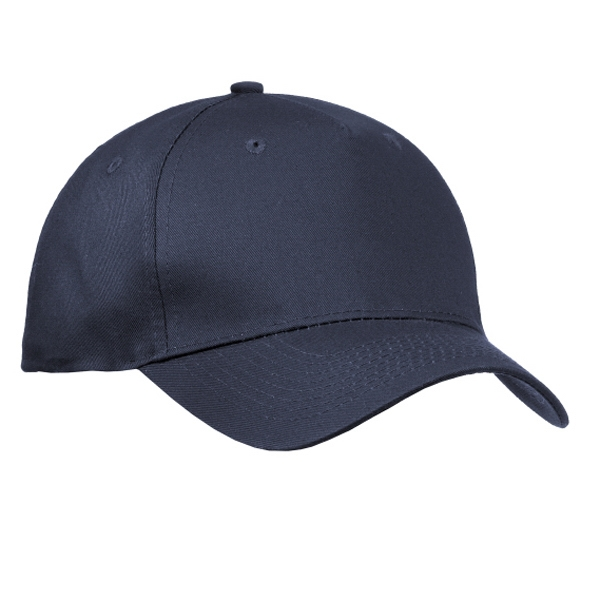 Port & Company (r) - Structured 5 Panel Twill Cap With Hook And Loop Closure Photo