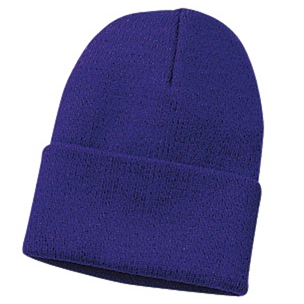 "Port & Company (r) - Acrylic Knit Cap With Approximate 3"" Folded Cuff Photo"