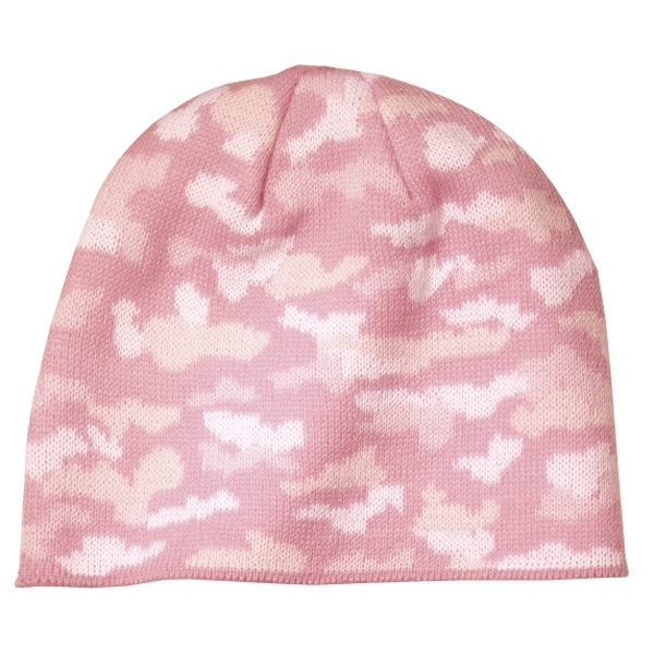 Port & Company (r) - Beanie 100% Acrylic Cap In Camouflage Color Photo