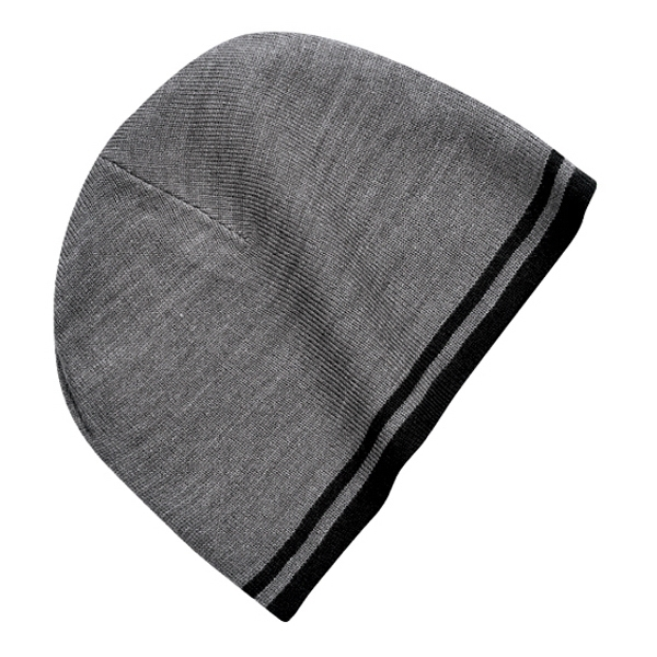 Port & Company (r) - Acrylic Fine Knit Skull Cap With Contrast Stripe Edge Photo