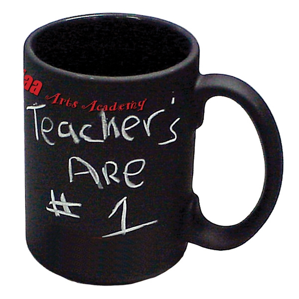 Black - 5 Working Days - Chalkboard Mug, 15 Oz Photo