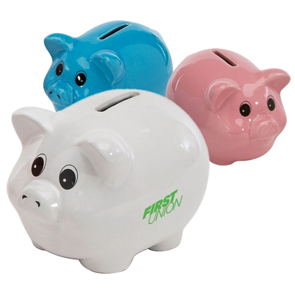 "6"" CLASSIC CERAMIC PIGGY BANK"