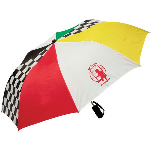 Rainworthy (r) - Umbrella That Is Easy To Carry And Has Flat-top Design That Reduces Rain Buildup Photo