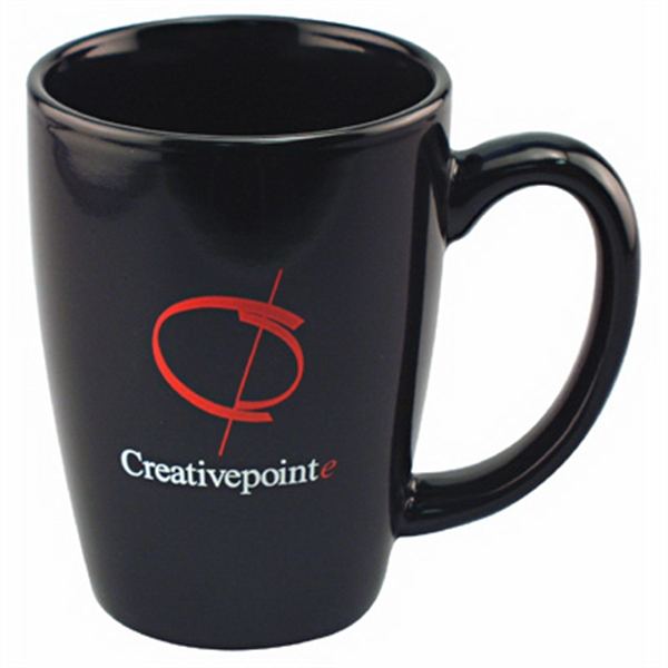Challenger Grande - Colored Ironstone Unique Shape Mug, 14 Oz. 2-day Quickship Photo