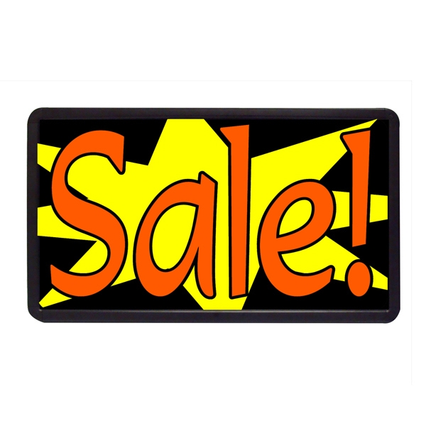 """Sale 13"""" x 24"""" Simulated Neon Sign - Custom Simulated Neon Sign.  13"""" x 24"""" Ready Made Title Light Box Sale"""