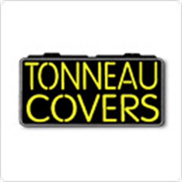 "Tonneau Covers 13"" x 24"" Simulated Neon Sign - Custom Simulated Neon Sign.  13"" x 24"" Ready Made Title Light Box Truck Accessories"