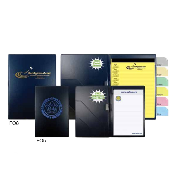 "Impression - Vinyl Padfolio, 5 3/4"" X 8 1/2"", With Business Card Holder Photo"