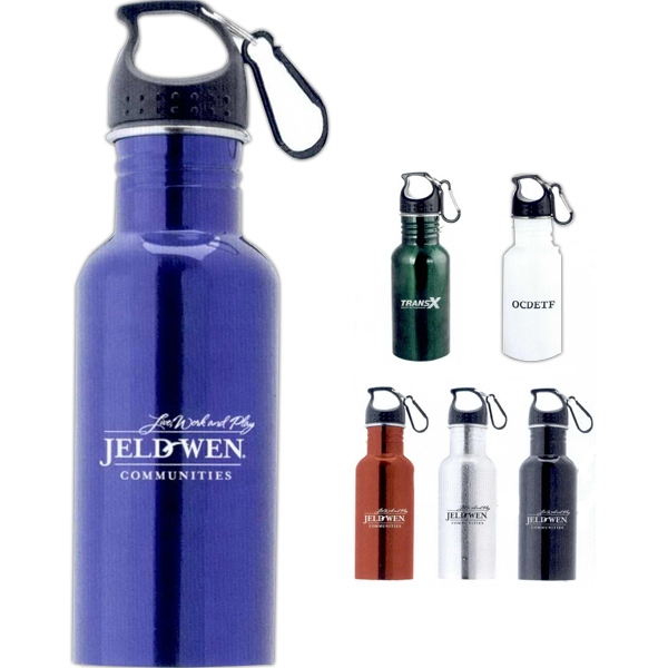 The Wide Mouth - Sports Bottle With Carabiner, 16 Oz Photo