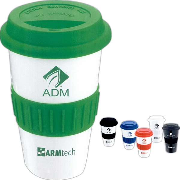 The Ideal Grip - Porcelain Tumbler With Matching Lid And Grip Photo