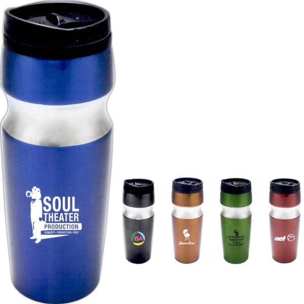 The Spark - Stainless Steel Tumbler With Thermoplastic Lining, 16 Oz Photo