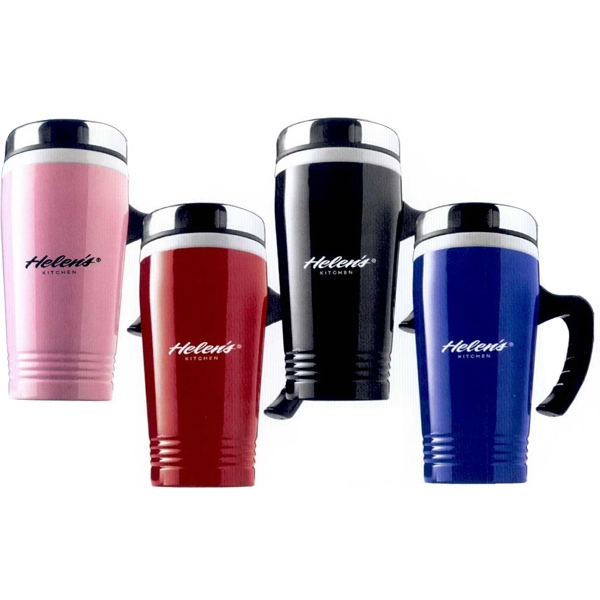 The Delicious - Ceramic And Stainless Steel Travel Mug, 13 Oz Photo