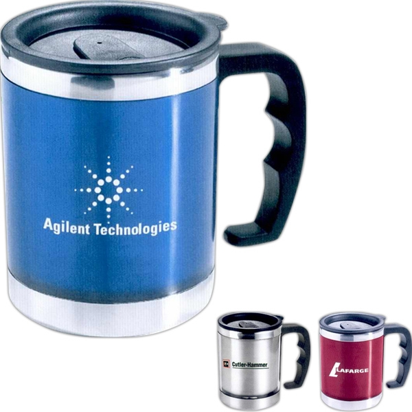 The Flavour - Double Walled Translucent Desk Mug With Stainless Steel Liner Photo
