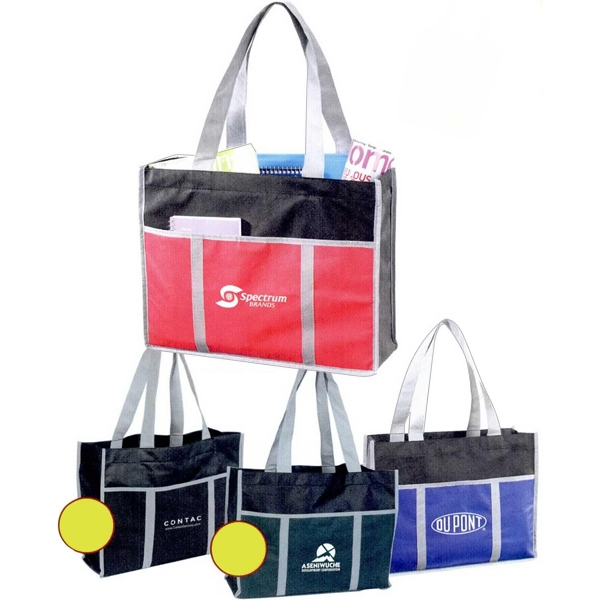 The Additional - Corporate Fashion Tote, 80 Gram Non-woven Polypropylene Photo