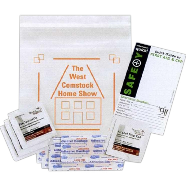 Mini First Aid Kit. A Must Have, Budget-priced, First Aid Kit For Home Or Travel Photo