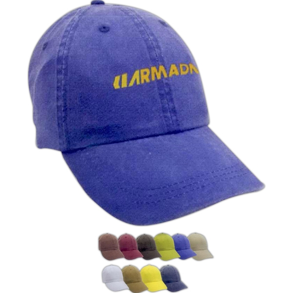 Pigment Dye Washed Cap
