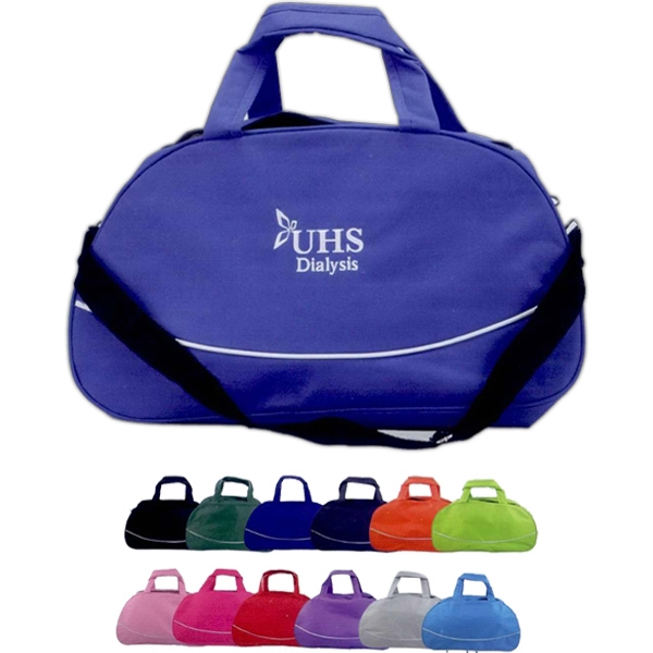 Basic Gym Bag. 100% Polyester. Bag For The Active Lifestyle Photo