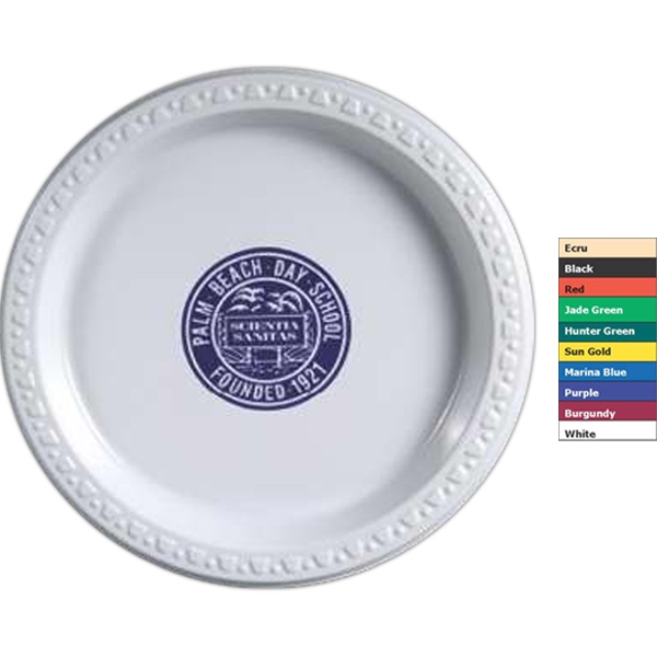 colored paper plates bnoticed put a logo on it the promotional